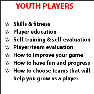 Click to find out more about our Your Player Training