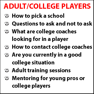 Click to find out more about our College Bound and Based Players Programs